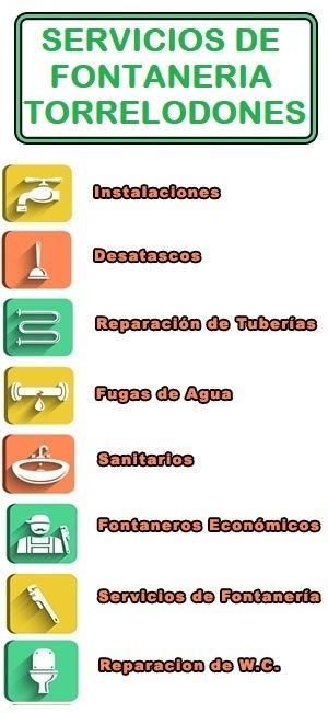 servicios de fontaneria en Torrelodones